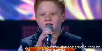 [Vídeo] Gustavo Bardim, de Guaramirim, se apresenta no The Voice Kids, da TV Globo - Diário da Jaraguá