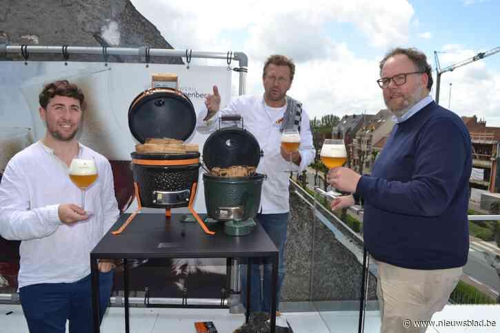 """Pop-up met bieren van brouwerij Van Steenberge: """"Culinaire belevenis tussen wijnranken stimuleert klimaatbewustzijn"""""""