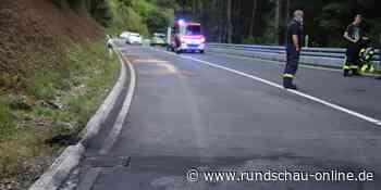 Windeck: Polizei kontrolliert auf B256 – Erneut stürzt ein Biker - Kölnische Rundschau