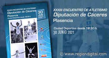 Abierto plazo inscripciones para participar XXXIII Encuentro Atletismo Diputación Cáceres - Región Digital