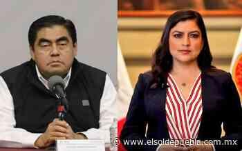 'No suena bien decirlo y no acreditarlo': Barbosa a Claudia Rivera sobre presuntas irregularidades en elección - El Sol de Puebla