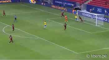 Gabriel Barbosa marcó gol de pecho que selló la goleada de Brasil ante Venezuela por Copa América 2021 - VIDEO - Libero.pe