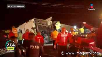 Viaje termina en tragedia en Rosarito; mueren siete Imagen Televisión - imagentv.com