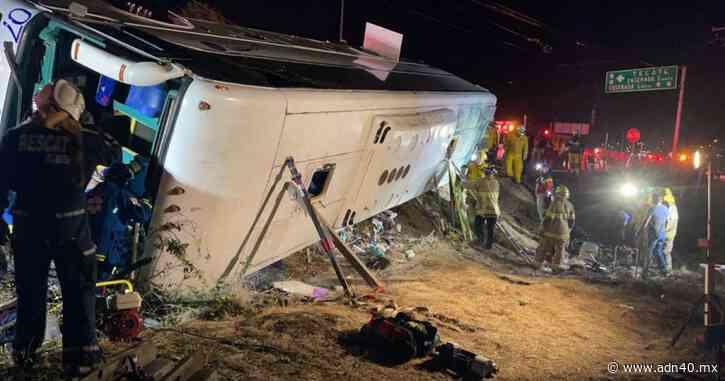 7 muertos y 20 heridos deja accidente carretero en Playas de Rosarito - ADN 40