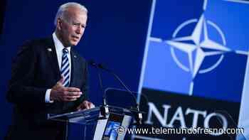 """La OTAN celebra la llegada de Biden, tilda a Rusia y a China de """"regímenes autoritarios"""" - Telemundo Fresno"""