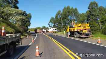 Motorista sofre ferimentos graves após batida entre dois caminhões em Ortigueira - G1