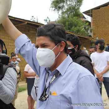 """""""El pueblo se ha despertado"""", dice Castillo, que se acerca a la victoria electoral en Perú - La República"""
