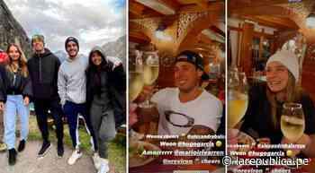 Hugo García y Alexandra Balarezo viajaron a Huaraz junto a Mario Irivarren y Vania Bludau - LaRepública.pe