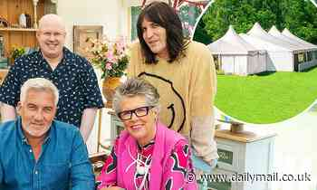 Bake Off bosses 'add extra security to contestants' COVID bubble after fans tried to get on the set'