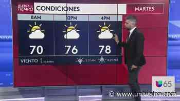 Se prevé un martes nublado para Filadelfia   Video   Univision 65 Philadelphia WUVP - Univision