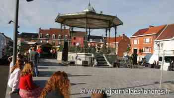 Le kiosque de Wormhout reprend vie ainsi que sa fonction initiale - Le Journal des Flandres