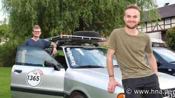 Ankommen ist das Ziel: Freunde nehmen für einen guten Zweck an Alpen-Rallye teil - HNA.de
