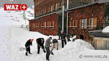"""Behinderte Menschen beim Alpen-Einsatz auf """"Essener Hütte"""" - WAZ News"""