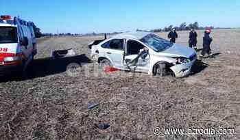 Las Rosas: Trágico incidente vial con una joven muerta y un herido grave - Otro Día