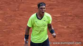 French Open - 'Lights out play!' - Rafael Nadal with 'something special' against Novak Djokovic - Eurosport COM