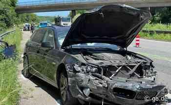 Unfall A565 bei Bonn-Hardtberg: Lkw fährt ungebremst auf BMW auf - General-Anzeiger Bonn