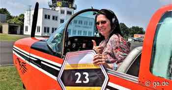 Hobbyfliegerin aus Bonn: Pilotin fliegt bei Wettbewerb als einzige Frau nach Grönland - General-Anzeiger Bonn