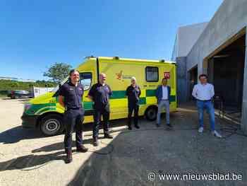 Ziekenwagen dit najaar gestationeerd bij technisch dienst