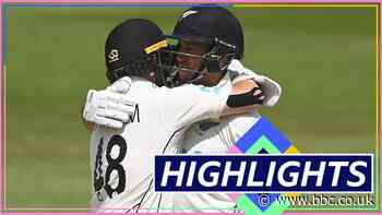 England thrashed by eight wickets