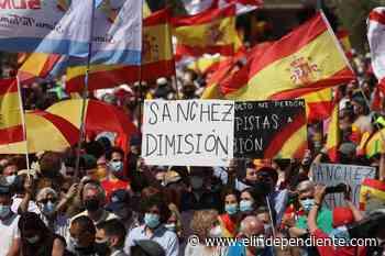 La foto de Colón es la de Sánchez sobre veinte colchones - El Independiente