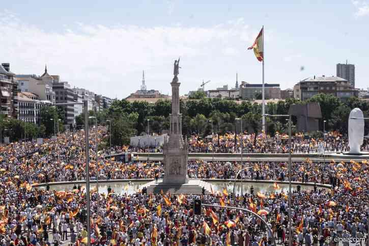 Vox acapara el protagonismo en Colón, mientras que el PP toma distancia - EL PAÍS