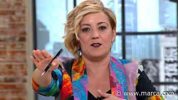 """Cristina Pardo se harta de los abucheos en la manifestación de Colón a 'LaSexta': """"¡Ya está bien, hombre! - MARCA.com"""