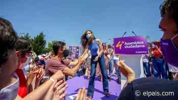 """Belarra, elegida secretaria general de Podemos, carga contra """"las derechas"""" de Colón - EL PAÍS"""