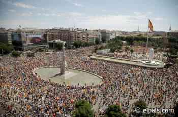 Así le hemos contado la manifestación en la plaza de Colón contra los indultos del 'procés' - EL PAÍS