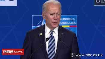 Biden on Putin: he is a 'worthy adversary'