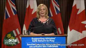 Ontario speeding up return-to-play for 18 leagues - My West Nipissing Now