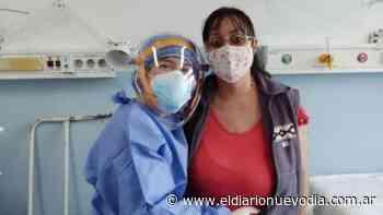 Caleta Olivia: una mujer embarazada fue dada de alta tras estar al borde de la muerte por covid-19 - El Diario Nuevo Dia