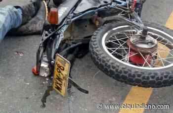 Fatal accidente en moto entre La Tebaida y Pueblo Tapao, deja dos personas fallecidas - El Quindiano S.A.S.