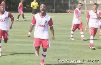 El equipo de La Tebaida, empató de local en la Copa Elite de Futbol - El Quindiano S.A.S.