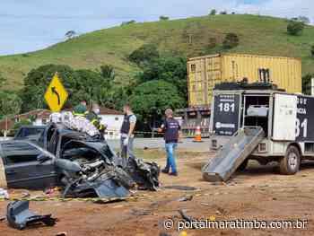 Motorista morre em acidente com vários feridos na BR 101 em Guarapari - Portal Maratimba