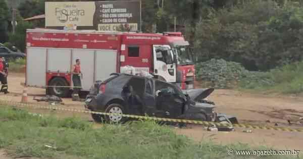 Acidente com três veículos causa morte na BR 101 em Guarapari - A Gazeta ES