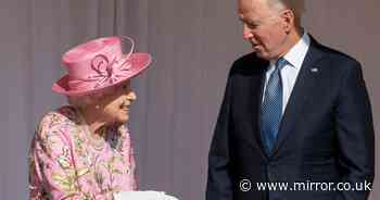 Joe Biden 'breaches protocol' with Queen for second time by revealing Putin chat