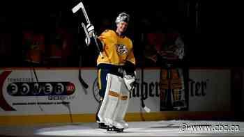 Predators' Pekka Rinne wins Clancy Trophy for leading on, off ice