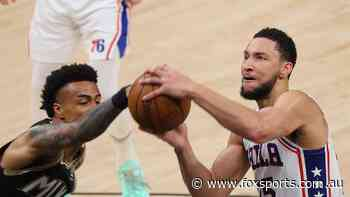 LIVE: Simmons' Sixers blow HUGE lead as wild NBA Playoffs take brutal last-gasp twist