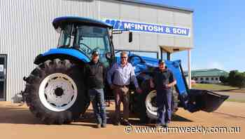New Holland range in demand in Great Southern