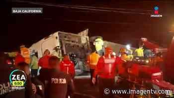 Viaje termina en tragedia en Rosarito; mueren siete Imagen Televisión - Imagen Televisión