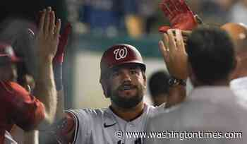 Schwarber goes deep again for Nats in 3-2 win over Pirates