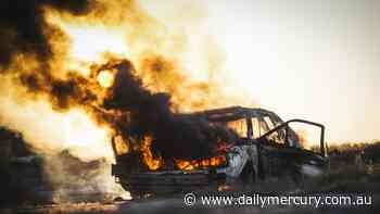 Two cars found burnt out in Mackay suburbs - Daily Mercury