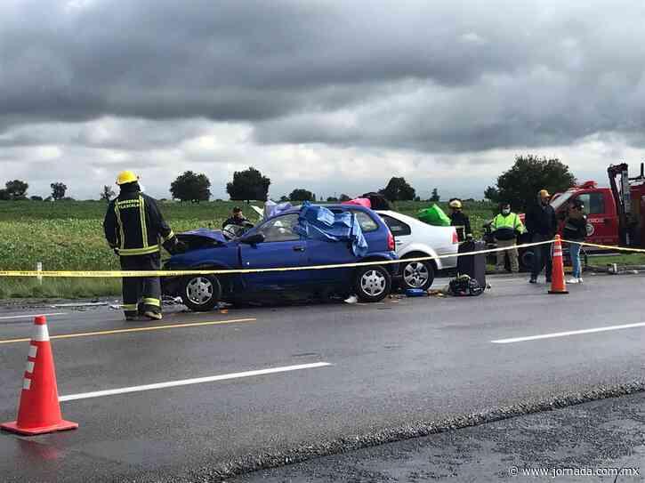 Accidente en autopista Amozoc–Perote deja siete muertos - La Jornada