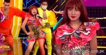 La 'Uchulú' brilló en la semifinal tras interpretar canciones de Celia Cruz - América Televisión