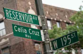 Celia Cruz ya tiene calle en Nueva York - La Jornada