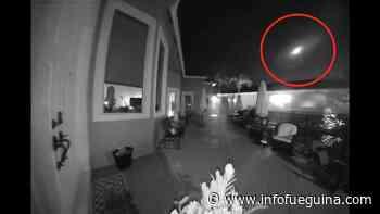 """Un curioso meteorito iluminó completamente el cielo de La Florida durante un partido de """"tee ball"""" - Infofueguina"""