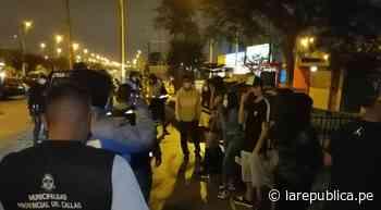 Coronavirus en Perú: Callao: diez menores de edad son intervenidos en fiesta COVID-19 - LaRepública.pe