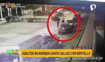 Inseguridad en el Callao: roban autopartes, negocios y hasta a los transeúntes - Panamericana Televisión