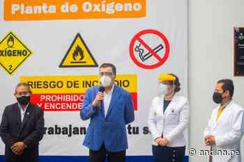 Callao inaugura dos plantas de oxígeno y presenta 64 concentradores de oxígeno - Agencia Andina