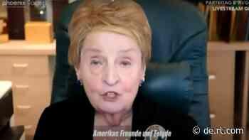 """Gute alte Zeiten der """"NATO-Erweiterung""""– Madeleine Albright gibt """"Impulse"""" bei Grünen-Parteitag - RT Deutsch"""